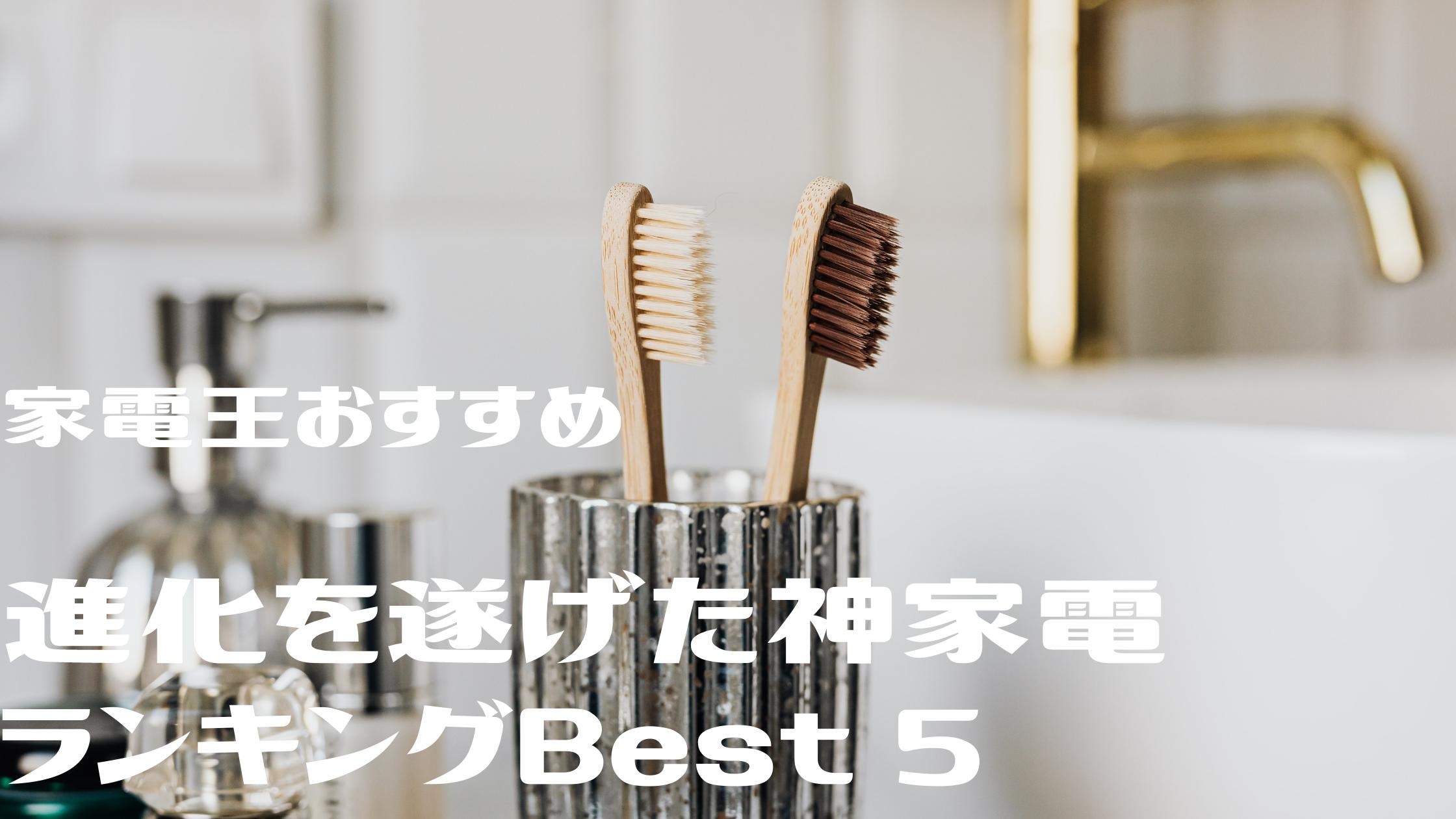 【神家電 best5】『バルミューダ ザ・ライト』『オズモ ポケット』『電動歯ブラシ』