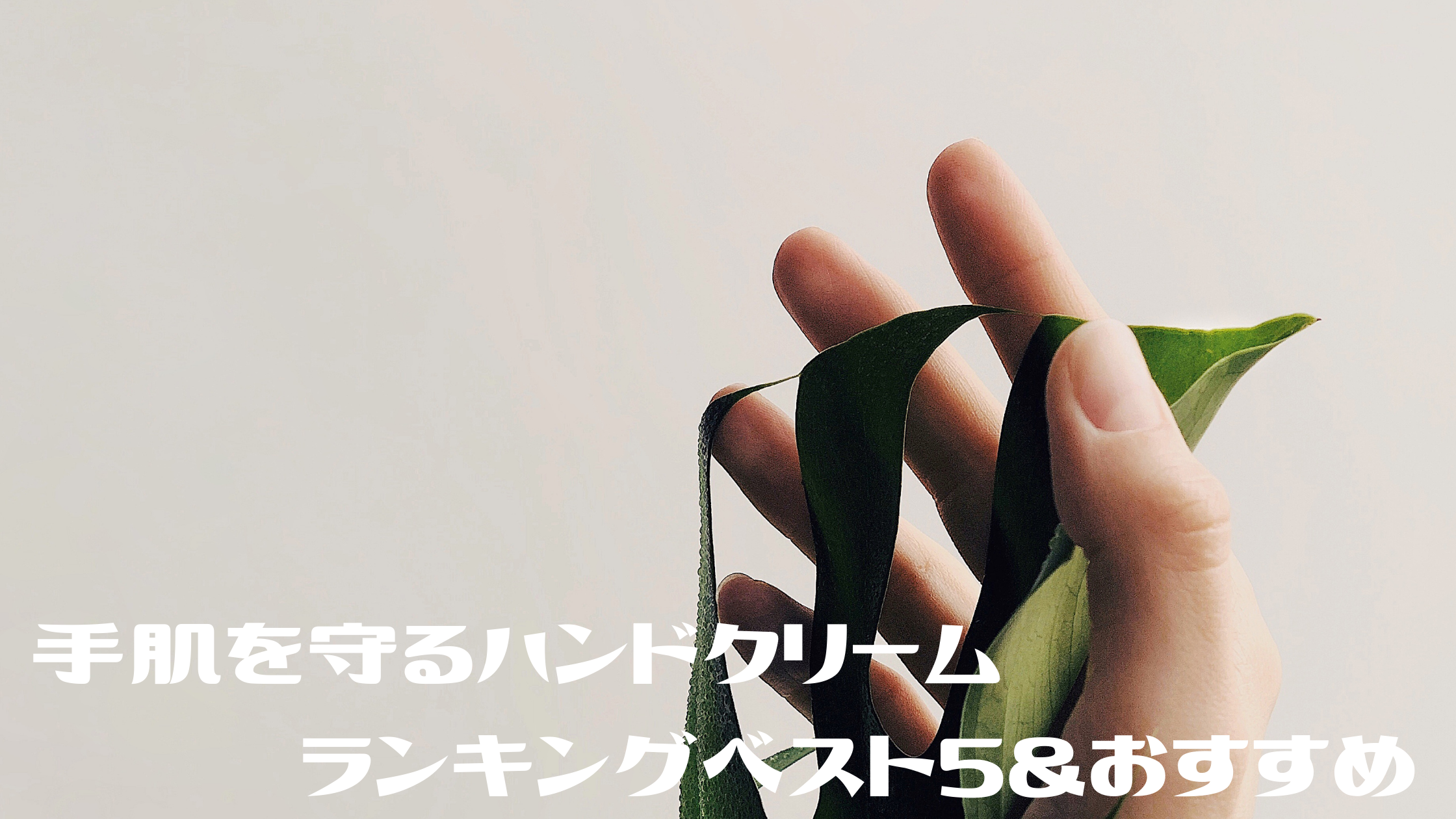 【めざましテレビ】ハンドクリーム『手肌を守る保湿&消毒』『ネイリストに人気』『経済産業省も認めた』 ランキングベスト5