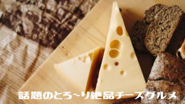 【チーズグルメ】絶品!美味しさが口までのび~る とろ~り誘惑!話題のチーズグルメ