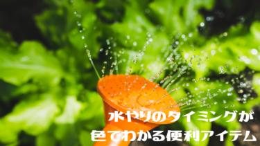 植物の水やりに頼れるサポートアイテム【sus tee】